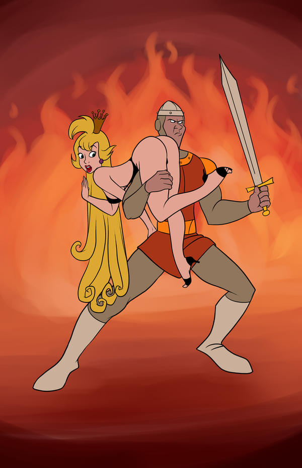 Dragon's Lair by TheCosbinator on DeviantArt