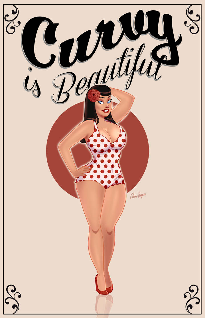Curvy is Beautiful Pinup