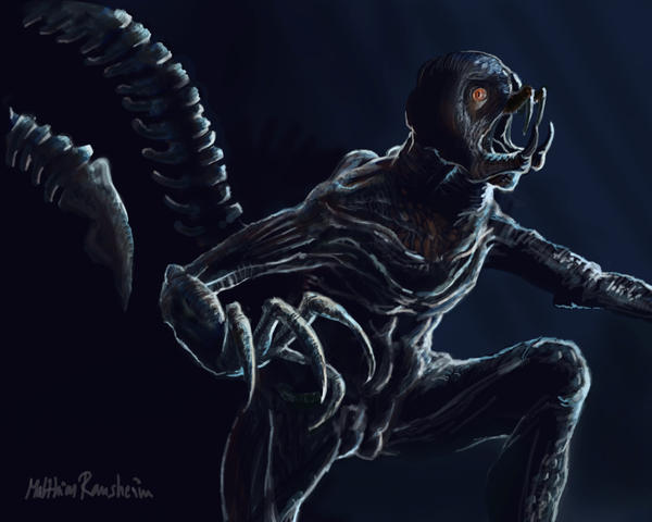 Resident Evil Verdugo creature by Furgur on DeviantArt