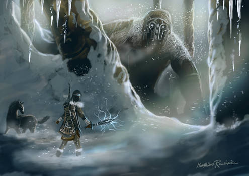 Shadow of the Colossus winter