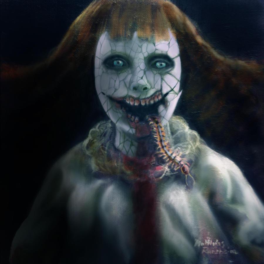Scary halloween doll by furgur