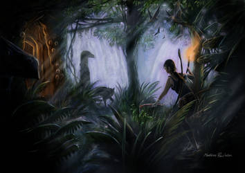Lara Croft and the tomb of the dead by Furgur