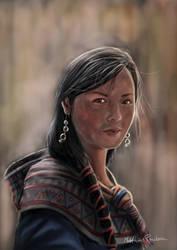 Peruvian girl by Furgur