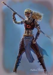 Chitara from Thundercats by Furgur