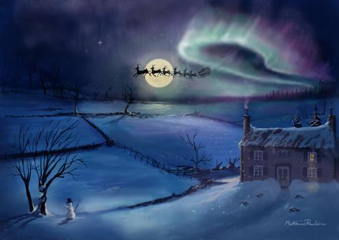 Santa Claus comes