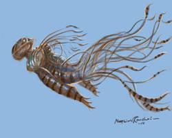 Ekilumpa creature by Furgur