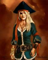 Captain Izabella Bloodthirst by Furgur