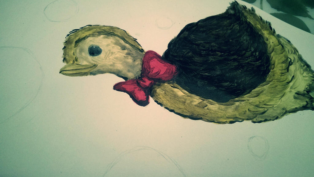 Lilly the ostrich [in progress] by S-catchy-Cookie