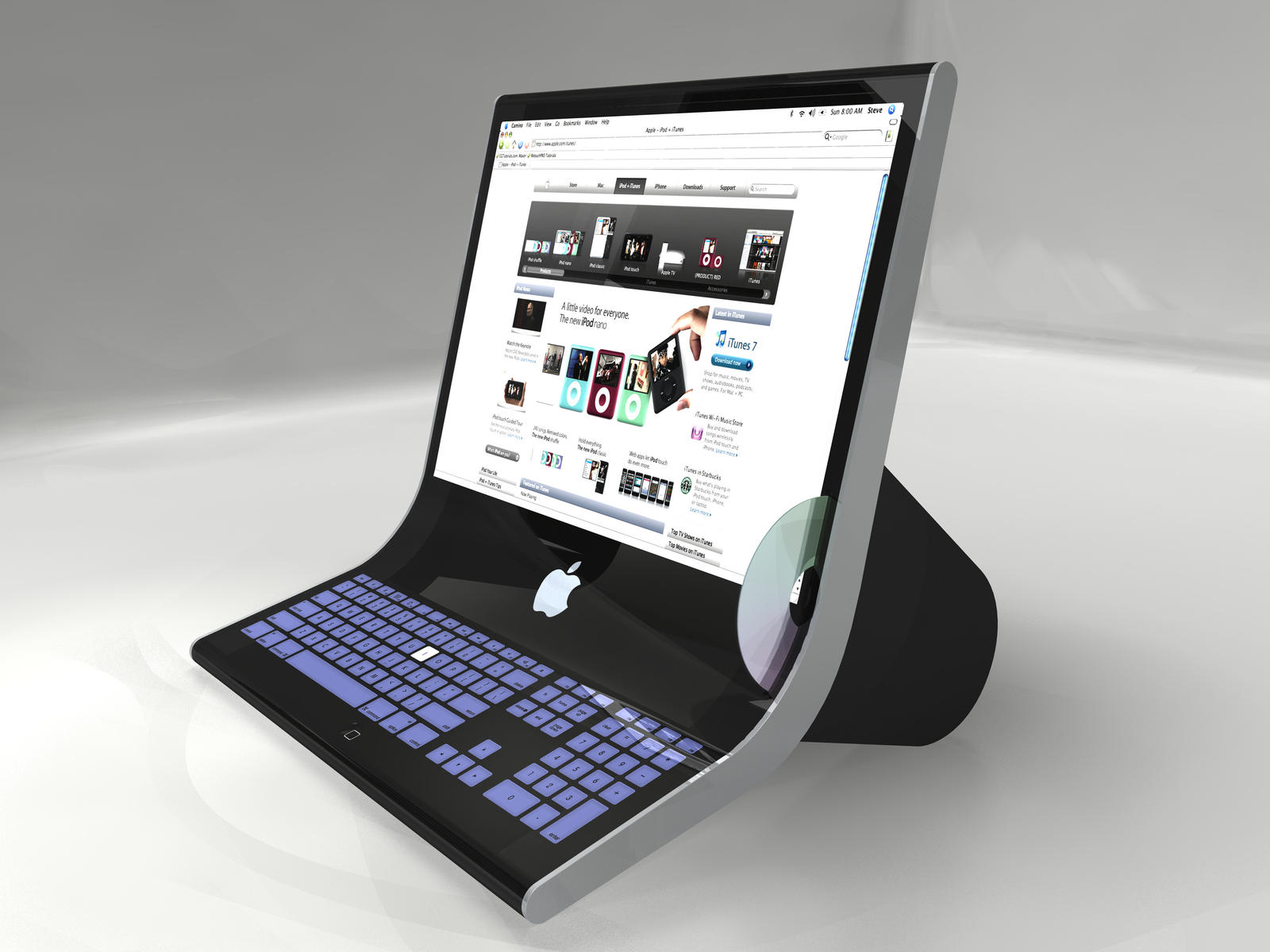 Future iMac 3D by Stevep67 on DeviantArt
