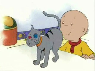 Caillou is a perv