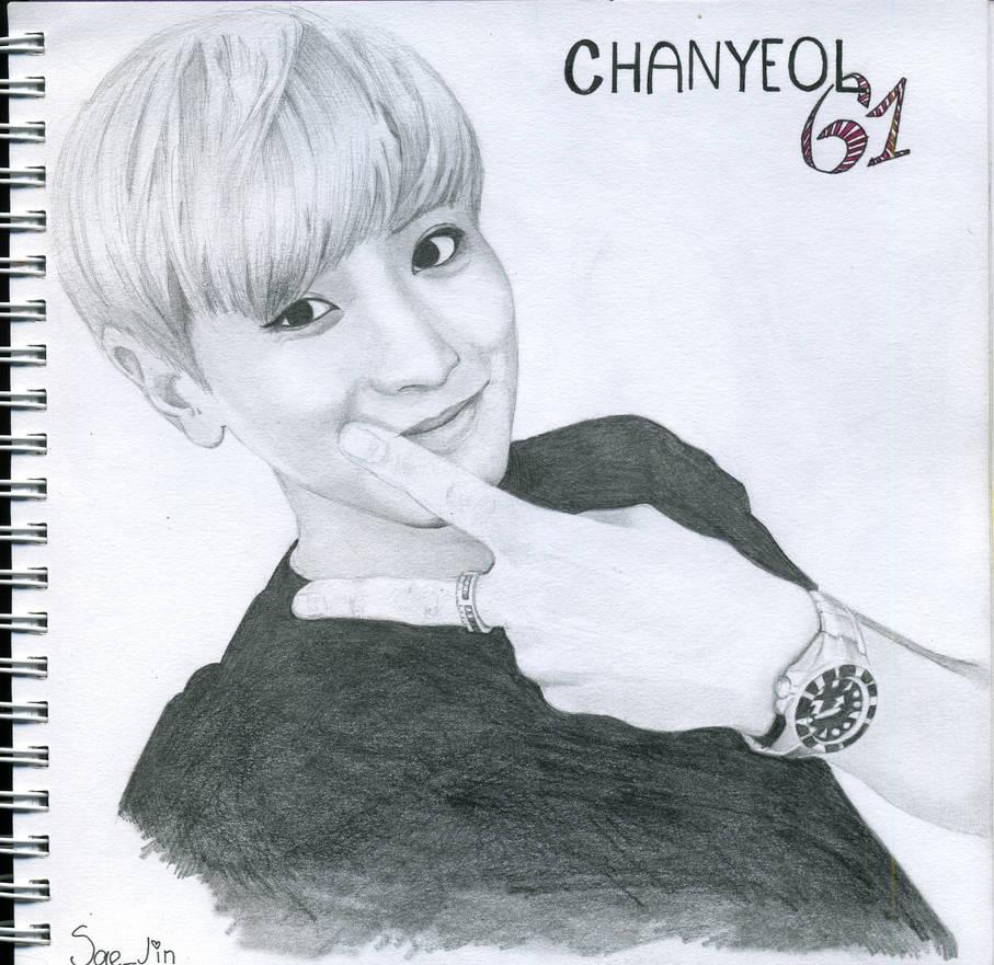 Chanyeol EXO by Sae-Jin-Art on DeviantArt