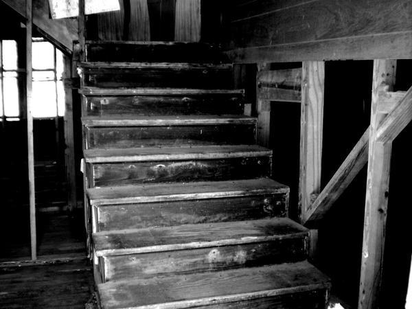 creepy stairs by cynn0r on deviantart