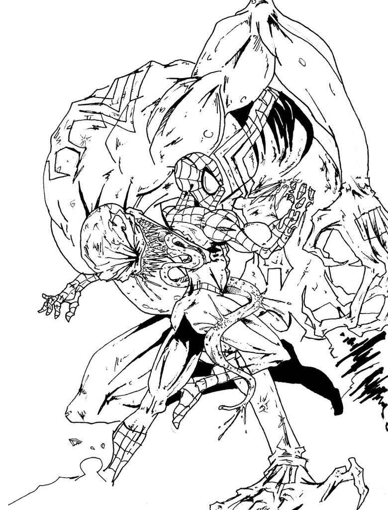 Flash And Hulk Combined Coloring Page