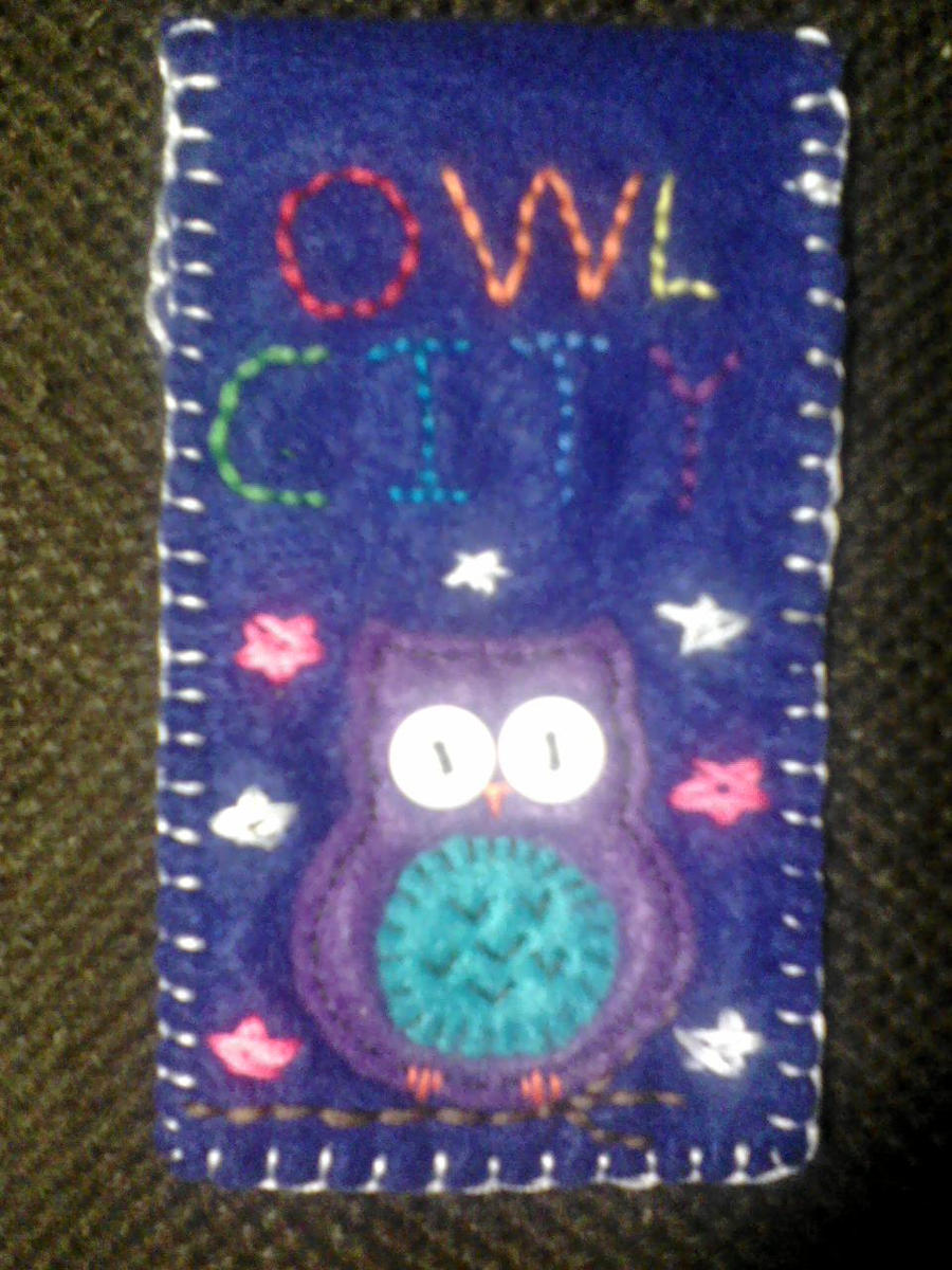 Owl City Phone Pouch by omnislash083