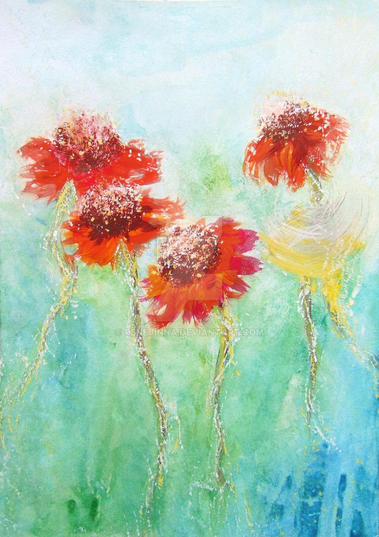 Flowers by Renejinna