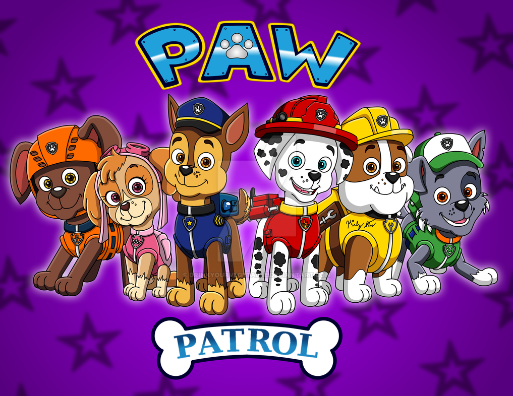 Paw Patrol Happy Birthday Coloring Pages