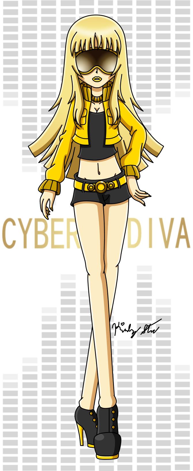 Vocaloid cyber diva by drinkyourvegetable on deviantart - Cyber diva vocaloid ...