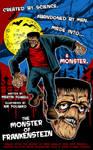 Monster of Frankenstein Poster
