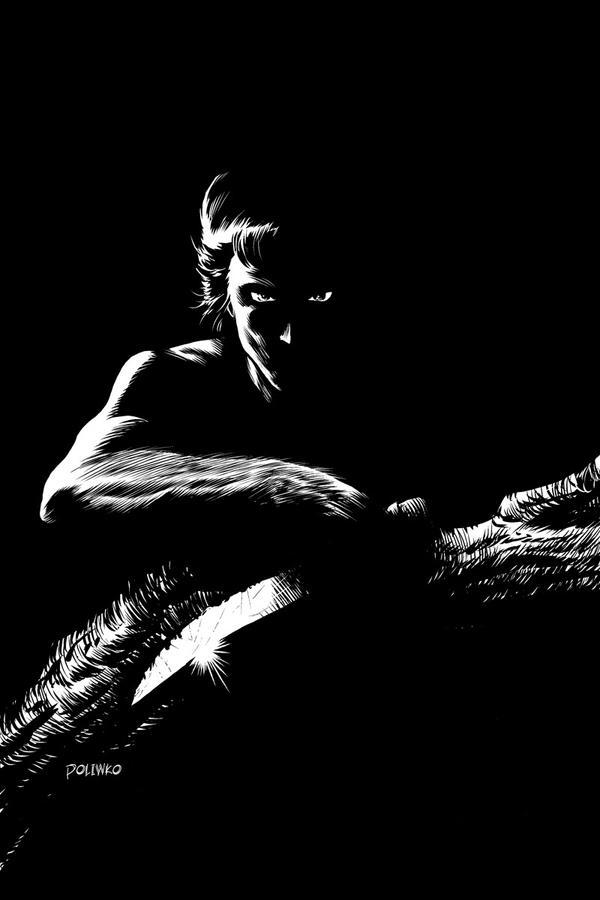 Tarzan Noir by niknova