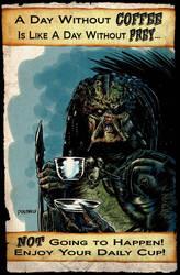 Predator Coffee Break by niknova