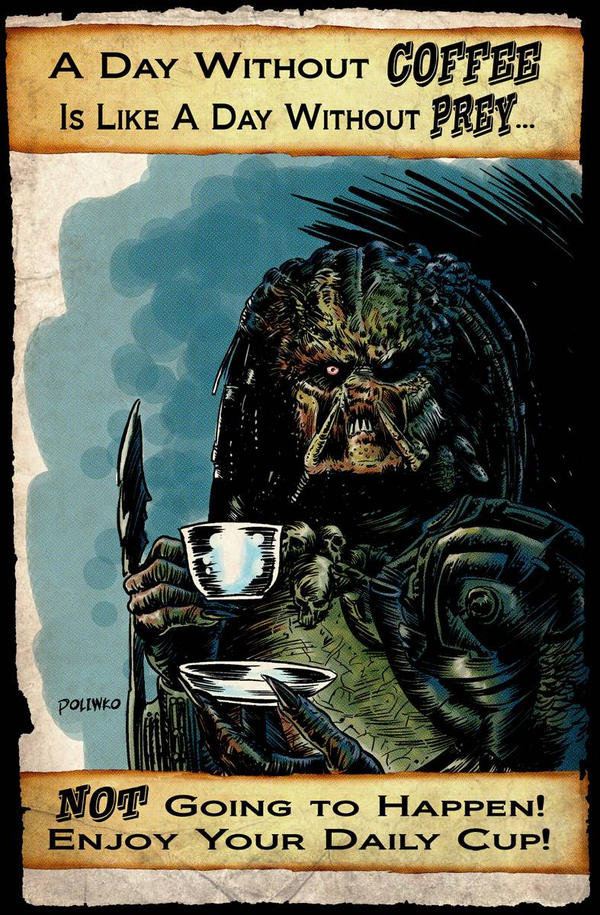 Predator Coffee Break by niknova