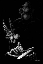Asterix Noir by niknova