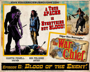 The War Chief Episode 06 Lobby Card by niknova