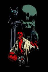 Hellboy by niknova
