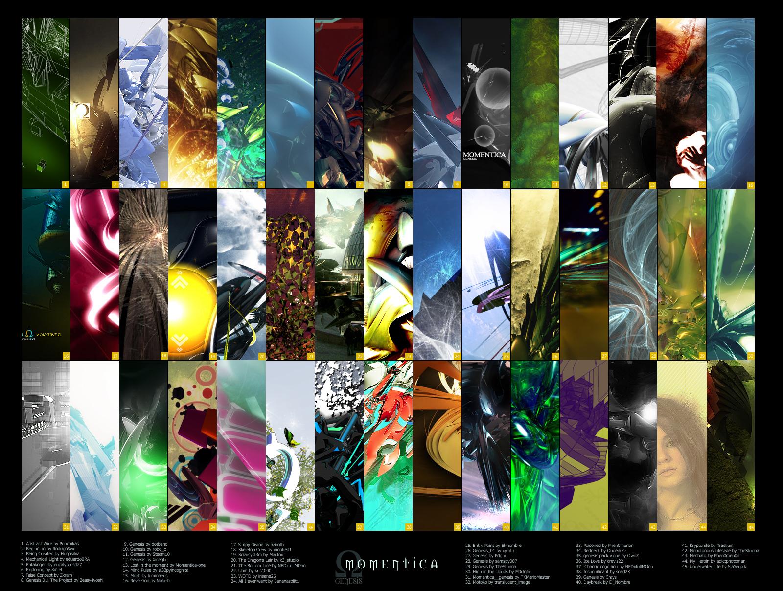 ARTPACK: Genesis by momentica