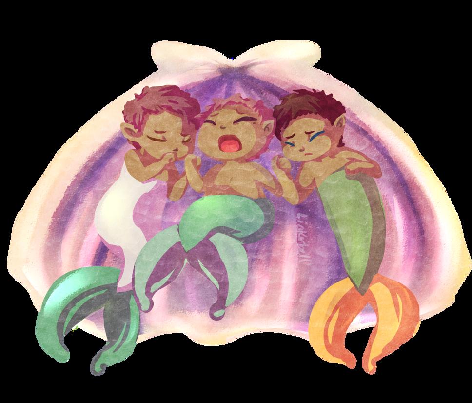 Siren Triplets by Linkerbell