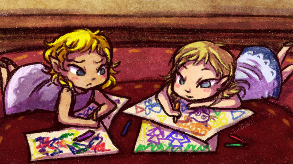 Young Doodles by Linkerbell