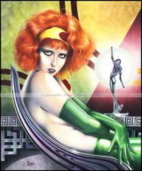 Burn - Clara Bow Opus 7 by Artman2112