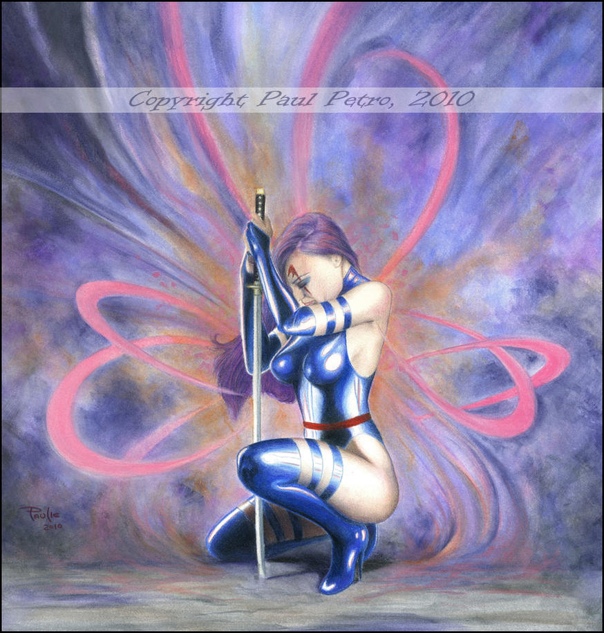 Psylocke by Artman2112