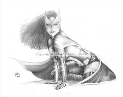 Study for Huntress by Artman2112
