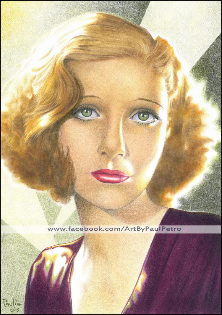 Loretta Young in color by Artman2112