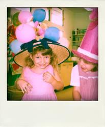 90s: bonnet.