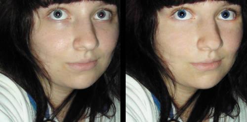 Photoshoppin' mah face.