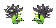 Zygarde sprite by Seiku88