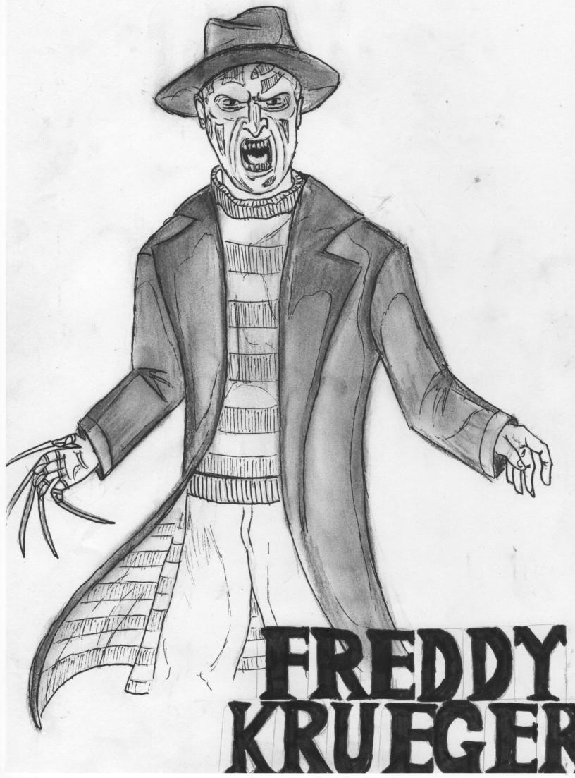 Image Result For Freddy Krueger Coloring