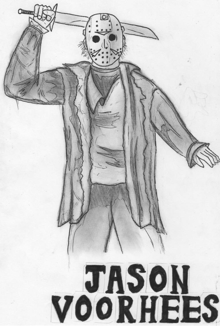 Jason Voorhees by wisemantonofski on DeviantArt