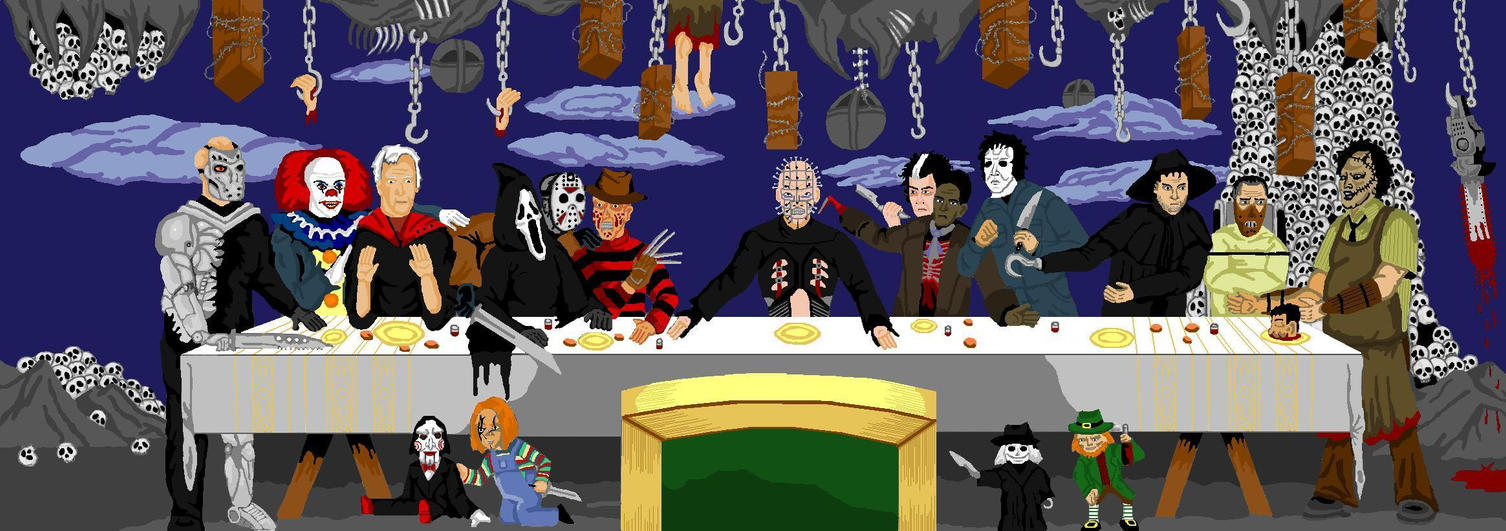 Pure Evils Last Supper V3 By Wisemantonofski