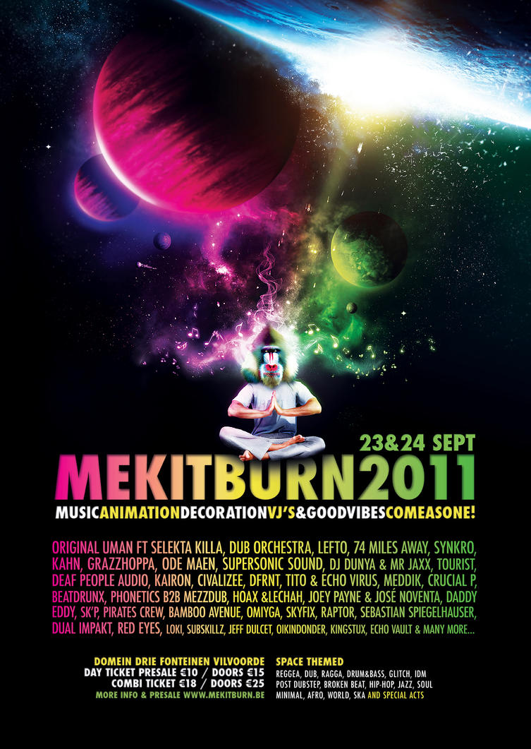Mekitburn 2011 by kDzine