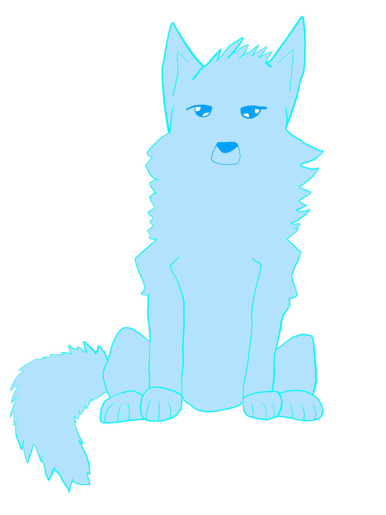 Original Character: Fenrir the Ghost Wolf by ArcStories