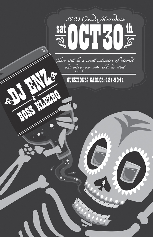 Halloween Party Flyer by therealferret on DeviantArt – Halloween Party Flyer