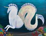 Hippocampus Unicorn by kaleidoscopickle