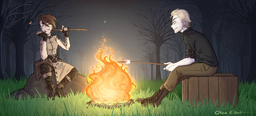 Bonfire Buddies by Frankychan1