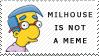 Milhouse Stamp by SoupyFox