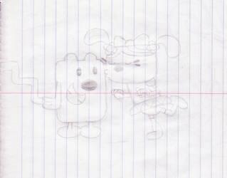 Wubbzy and Daizy by wamaluiwal