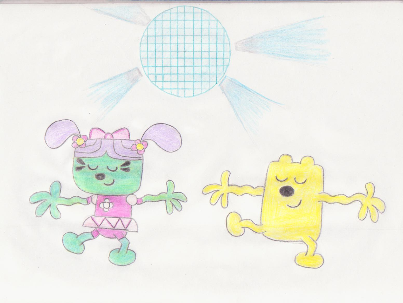 Wubbzy And Daizy Dancing By Wamaluiwal On DeviantArt