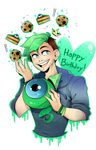 Jacksepticeye Birthday!!!